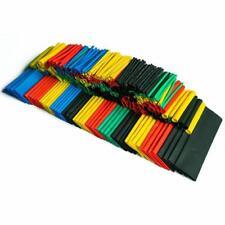 166 PCS Cable Heat Shrink Tubing Sleeve Wire Wrap 2:1 Assortment Kit Box Set USA