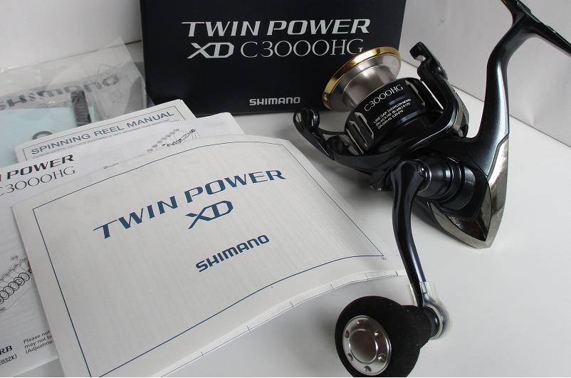 Shimano 17 Twin Power XD C3000HG Spinning Spinning Spinning Carretes Nuevo Japón 296c40