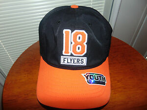 13b2368dea9 Philadelphia Flyers Mike Richards  18 YOUTH Kids Hat Cap NHL Hockey ...