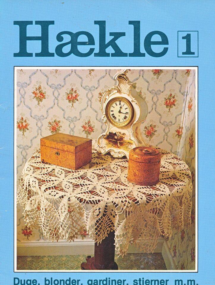 HÆKLEHÆFTER, emne: håndarbejde