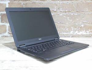 """Dell Latitude E7250 12.0"""" Laptop i5 5th Gen 128 GB 4 GB Win 10 Grade C 431421"""