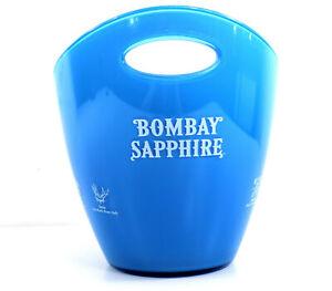 Bombay SAPPHIRE | Gin Flaschen Kühler Ice Bucket Eiswürfel Behälter 5e1r