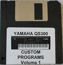 Yamaha QS300 Synthesizer Custom Programs Volume 1 Disk
