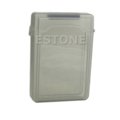 Grey 3.5 Inch IDE SATA Hard HDD Drive Box Storage Case NEW