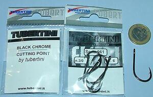 AMI-TUBERTINI-Serie-961-3-0-AMO-pesca-nero-Black-chrome-cutting-point