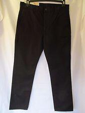 NWT Men's LEVI'S 511 SLIM TROUSER, W 34 L 30, Solid Black, Lightweight