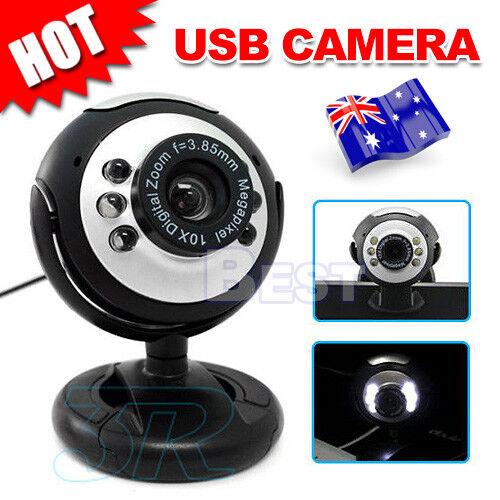 oz camera mic 6 led lights 16 megapixel mp usb webcam for skype