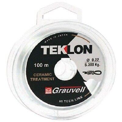 GRAUVELL New Teklon zenith 12 Strand Pêche Tresse-Bobine 135 M