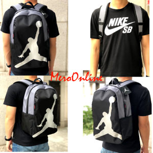 finest selection e121f d7e9f Image is loading LARGE-Nike-Jordan-23-Jumpman-ISO-Backpack-Laptop-