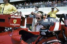 Gerhard Berger Ferrari F1/87 French Grand Prix 1987 Photograph