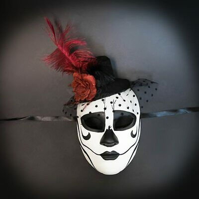 Day of the Dead Rosebud Masquerade Mask