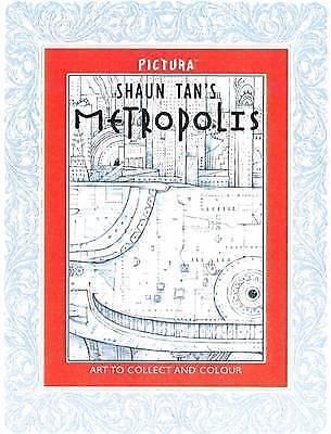 LK NEW Shaun Tan's Metropolis By Shaun Tan Paperback Free Shipping