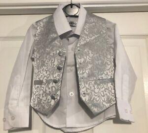 Diligent Garçons Taille Manteau & Chemise Âge 1 Gc-afficher Le Titre D'origine Marchandises De Proximité