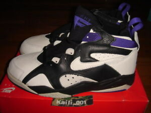more photos f2507 34feb Image is loading Nike-Air-Force-Max-BGS-Vintage-Basketball-Barkley-