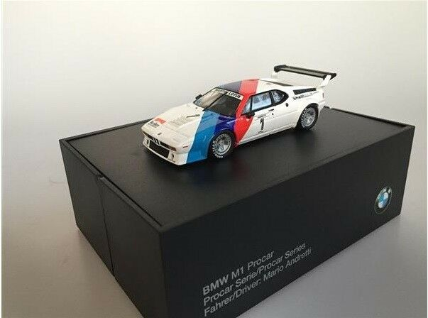 1 43 BMW M1 Procar 1979 Marlboro  1 Andretti Minichamps 8042030942 RAR