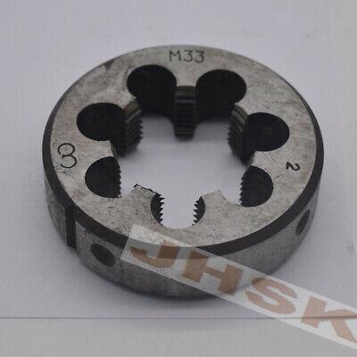 1pcs Metric Right Hand Die M10 X 0.5 mm Dies Threading Tools M10 Fine tooth