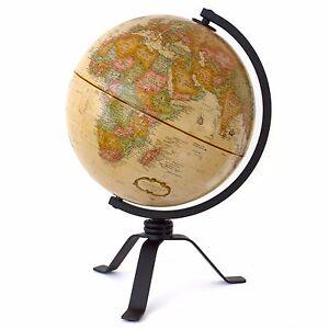 Mackie antique desktop globe world globe political map geography image is loading mackie antique desktop globe world globe political map gumiabroncs Choice Image