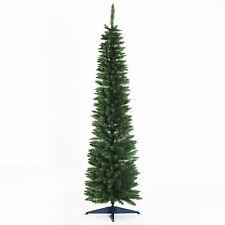 6 ft Tall Artificial Pencil Christmas Tree Holiday Décor Easy Assembly