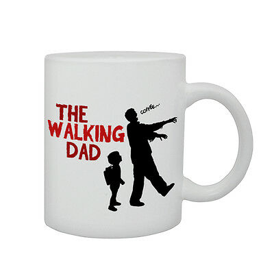 The Walking Dad Dead Fathers Day Gift Funny Parody Zombie Printed Mug