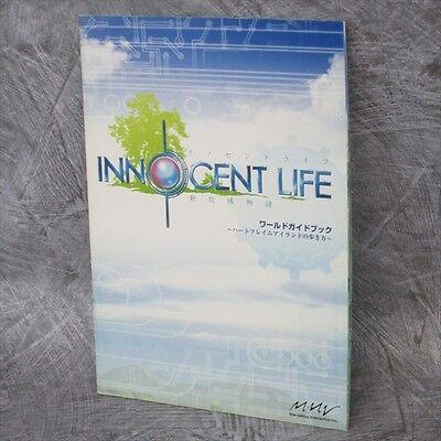 INNOCENT LIFE Shin Bokujou Monogatari Art Material Booklet Japan Book PSP Ltd