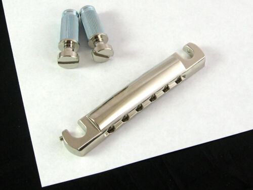 Tone Pros System II T1ZSA Locking US Aluminum Tailpiece Nickel T1ZSA-N