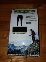 Mens Omni Wool Base Layer Bottoms Pants Size 2xl Xxl
