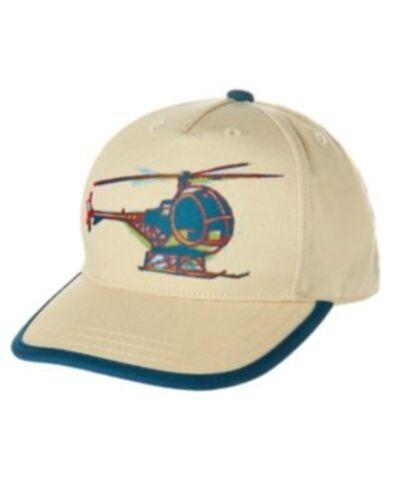 GYMBOREE JUNGLE EXPLORER HELICOPTER BASEBALL CAP HAT 3 4 5 7 8 9 10 NWT-OT