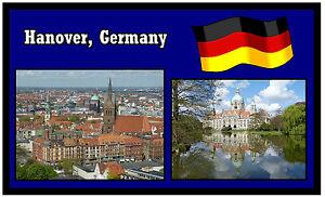 Hannover deutschland souvenir neuheit k hlschrank magnet for Hannover souvenirs