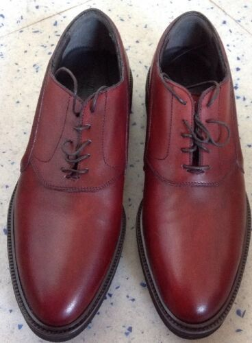 Alberto Guardiani 'Aldon' Oxblood Shoes Size Uk 6.5