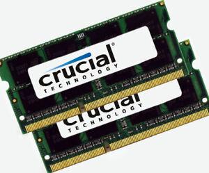 Crucial-2x-8-Go-16-Go-ddr3l-sodimms-Noteb-RAM-1600-Mhz-204pin-2x-ct102464bf160b