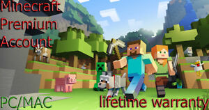 Minecraft-Premium-Account-Lifetime-warranty-Nick-Skin-PC-MAC