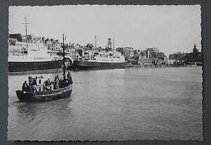 Dieppe-Normandie-Seine-Maritime-Photographie-originale-annees-1950-region-France