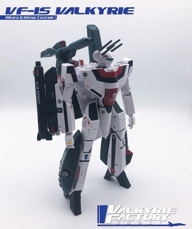 Nuevo valkyriefactory Juguetes 1/60 Robotech VF-1S Strike Valkyrie En Stock