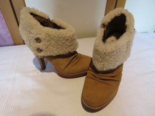 5 8 Rrp Eur Ugg® £190 Boots 10 Ankle 41 Australia Us Uk Georgette Chestnut Suede f80zOf1
