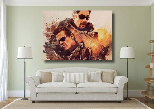 A0 A1 A2 A3 A4 Maxi Sicario Day of the Soldado Large Poster Wall Art Print