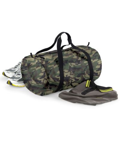 Premium Barrel Bag Packaway Holdall Sport Bag Water Resistant Duffle Gym Bag