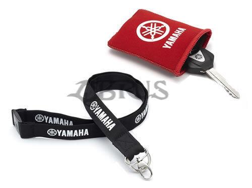Genuine Yamaha Black Lanyard /& Keyring Protector ACCESSORIES