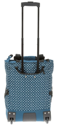 Trolley Punta Wheel achat Trolley Chariot d/'achats Roller 5020 Blue Dots