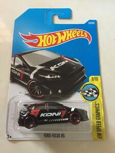 Hot-wheels-Ford-Focus-RS-BLACK-NEW