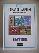LIBRO INTERNAZIONALE F.C. CALCIO I GRANDI CAMPIONI  INTER
