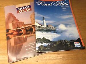 Road-Atlas-Map-Vintage-United-States-amp-Canada-amp-Mexico-StateFarm-1996-1997