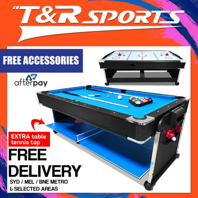 Table Soccer 4 In 1 Multi Game Table Pool Table Tennis Air Hockey Tables