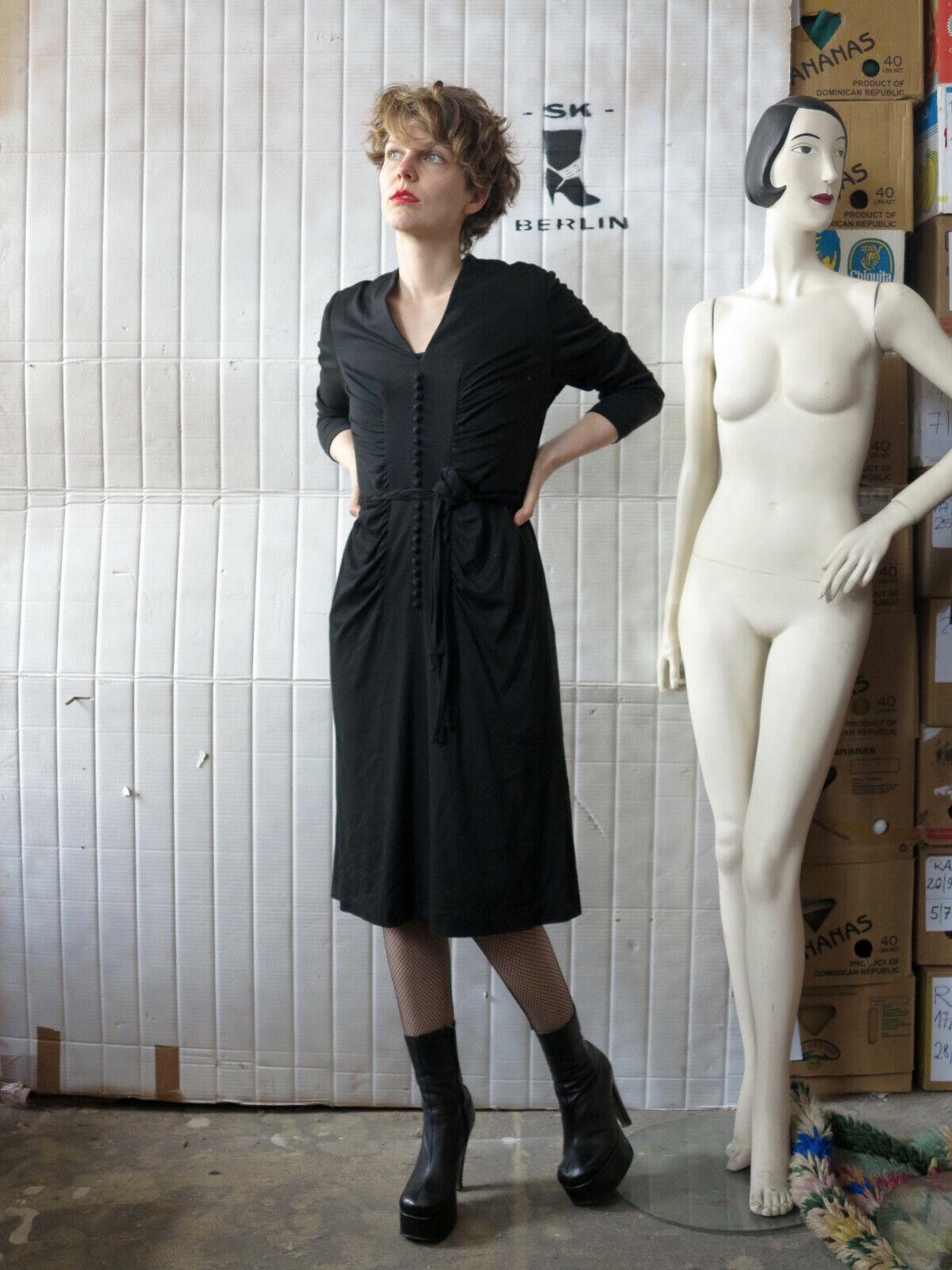 Uli Richter Design Kleid Abendkleid Party 70er True VINTAGE 70s damen dress