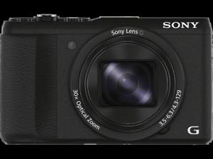 Cámara 20.4 MP Sensor CMOS Exmor R Sony Cyber-Shot DSC-HX60