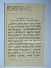 TRIESTE Circolo Didattico Guardiella 1929 Garzolini vecchia cartolina