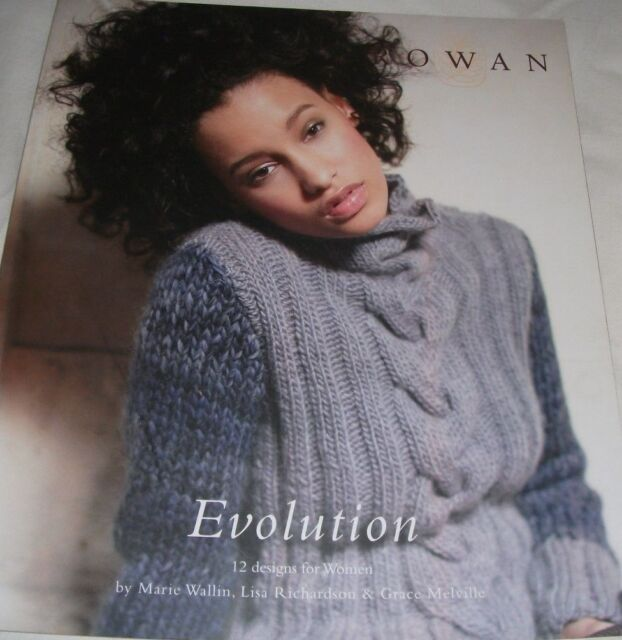 Rowan Evolution Knitting Pattern Book 12 Designs For Women Ebay