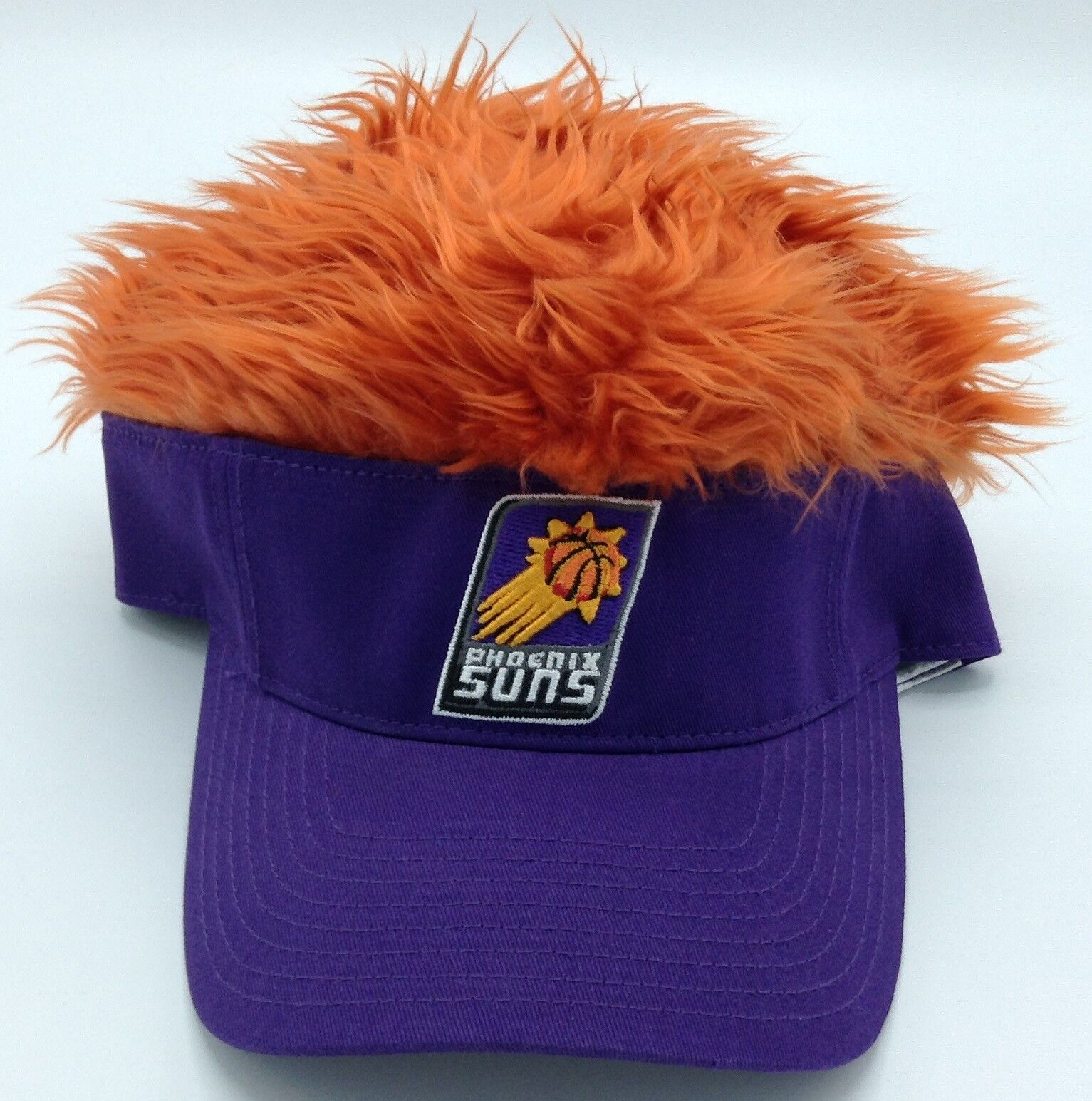 NBA Phoenix Suns Erwachsene Strukturiert Stretch Fit Fit Fit Fuzzy Top Kappe 39799e