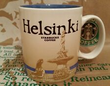 Starbucks Coffee Mug/Tasse/Becher HELSINKI/FINLAND,Global Icon,NEU mit Sticker!!