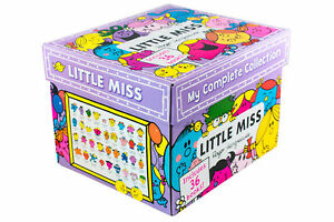 Little-Miss-My-Complete-Collection-By-Roger-Hargreaves-36-Books-Set-Collection