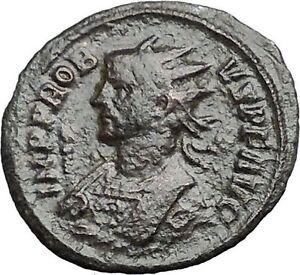 PROBUS-281AD-Authentic-Rare-Ancient-Roman-Coin-Temple-of-Roma-or-Venus-i54879